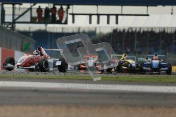 © Octane Photographic Ltd 2012. Formula Renault BARC - Race 2. Silverstone - Sunday 7th October 2012. Kieran Vernon - Hillsport. Digital Reference: 0545lw1d2330