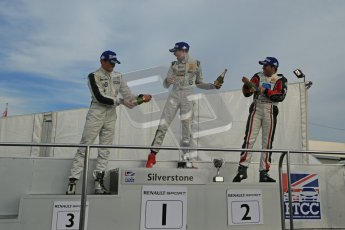 © Octane Photographic Ltd 2012. Formula Renault BARC - Race 2. Silverstone - Sunday 7th October 2012. Kieran Vernon - Hillsport.  Digital Reference: 0545lw1d2802