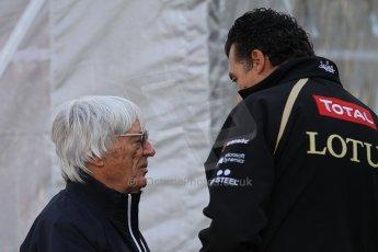 World © Octane Photographic Ltd. Belgian GP Spa - Sunday 2nd September 2012 - F1 Paddock - Bernie Ecclestone. Digital Ref :