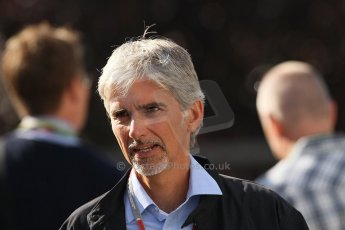 World © Octane Photographic Ltd. Belgian GP Spa - Sunday 2nd September 2012 - F1 Paddock - Damon Hill. Digital Ref :