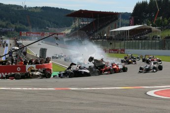 World © Octane Photographic Ltd. Belgian GP Spa - Sunday 2nd September 2012 - F1 Race. Digital Ref :