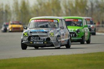 © Octane Photographic Ltd. Mini Se7en Championship practice session 21st April 2012. Donington Park. Leon Wightman. Digital Ref : 0298lw1d1047