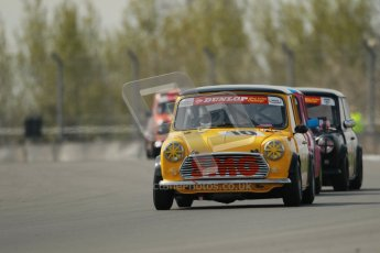 © Octane Photographic Ltd. Mini Se7en Championship practice session 21st April 2012. Donington Park. Ashley Davies. Digital Ref : 0298lw1d1056
