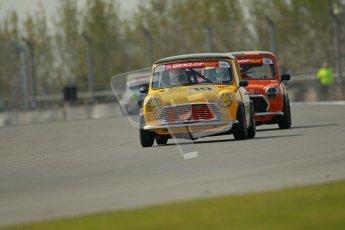 © Octane Photographic Ltd. Mini Se7en Championship practice session 21st April 2012. Donington Park. Ashley Davies. Digital Ref : 0298lw1d1211