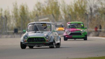 © Octane Photographic Ltd. Mini Miglia practice session 21st April 2012. Donington Park. Paul Clark, GB Motorsport/Dental Studio. Digital Ref : 0298lw1d1375