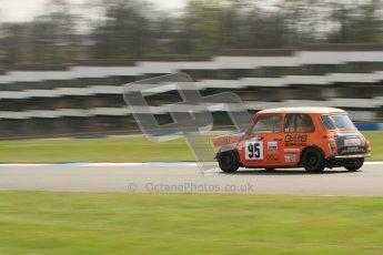 © Octane Photographic Ltd. Mini Se7en Championship practice session 21st April 2012. Donington Park. Julian Proctor. Digital Ref : 0298lw7d6229