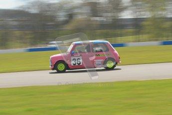 © Octane Photographic Ltd. Mini Se7en Championship practice session 21st April 2012. Donington Park. Damon Astin. Digital Ref : 0298lw7d6271
