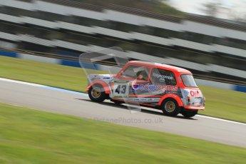 © Octane Photographic Ltd. Mini Miglia practice session 21st April 2012. Donington Park. David Edgecombe, Team Edgecoms/Owens Motorsport. Digital Ref : 0298lw7d6322