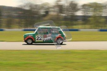 © Octane Photographic Ltd. Mini Miglia practice session 21st April 2012. Donington Park. Richard Casey. Digital Ref : 0298lw7d6416