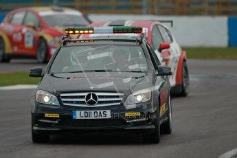 © Octane Photographic Ltd. BritCar Production Cup Championship race. 21st April 2012. Donington Park. Safety Car. Digital Ref : 0300lw1d2426