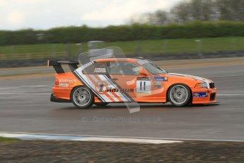 © Octane Photographic Ltd. BritCar Production Cup Championship race. 21st April 2012. Donington Park. Michael Symons/Keith Webster, BMW M3. Digital Ref : 0300lw7d7332