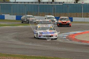 © Octane Photographic Ltd. BritCar Production Cup Championship race. 21st April 2012. Donington Park. Digital Ref : 0300lw7d7542