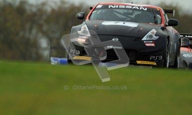 © Carl Jones/Octane Photographic Ltd. 20th October 2012. Dan Mitchell, Nissan 370z, OSS, Donington Park. Digital Ref : 0549ce7d1896