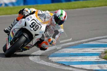 © Octane Photographic Ltd/Chris Enion 2012. British Superbikes test day – Donington Park, Tuesday 7th August 2012. Luca Scassa - Padgett's Honda. Digital Ref : 0450CE1D0082