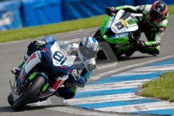 © Octane Photographic Ltd/Chris Enion 2012. British Superbikes test day – Donington Park, Tuesday 7th August 2012. Graeme Gowland - Team WFR Honda and Danny Buchan - MSS Bathams Kawasaki. Digital Ref : 0450CE1D0107