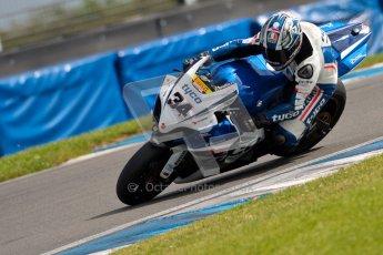 © Octane Photographic Ltd/Chris Enion 2012. British Superbikes test day – Donington Park, Tuesday 7th August 2012. Alastair Seeley - Tyco Suzuki. Digital Ref : 0450CE1D0125