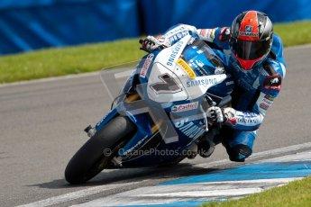 © Octane Photographic Ltd/Chris Enion 2012. British Superbikes test day – Donington Park, Tuesday 7th August 2012. Michael Laverty - Tyco Suzuki. Digital Ref : 0450CE1D0133