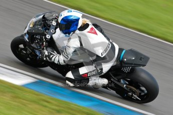© Octane Photographic Ltd/Chris Enion 2012. British Superbikes test day – Donington Park, Tuesday 7th August 2012. Jenny Tinmouth - Hardinge sorrymate.com Honda. Digital Ref : 0450CE1D0492