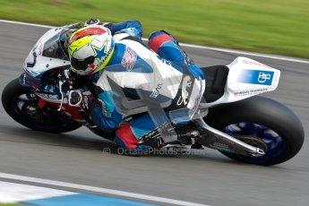 © Octane Photographic Ltd/Chris Enion 2012. British Superbikes test day – Donington Park, Tuesday 7th August 2012. ames Westmoreland - Team WFR Honda. Digital Ref : 0450CE1D0514