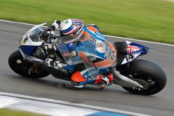 © Octane Photographic Ltd/Chris Enion 2012. British Superbikes test day – Donington Park, Tuesday 7th August 2012. John Laverty - Splitlath-Redmond Racing. Digital Ref : 0450CE1D0523