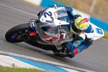 © Octane Photographic Ltd/Chris Enion 2012. British Superbikes test day – Donington Park, Tuesday 7th August 2012. James Westmoreland - Team WFR Honda. Digital Ref : 0450CE1D0612