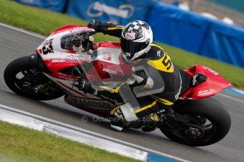 © Octane Photographic Ltd/Chris Enion 2012. British Superbikes test day – Donington Park, Tuesday 7th August 2012. Ducati Coventry. Digital Ref : 0450CE1D0783