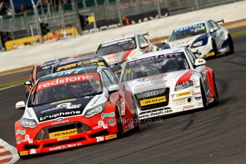 © Chris Enion/Octane Photographic Ltd 2012. British Touring Car Championship - Race 2. Silverstone - Sunday 7th October 2012.