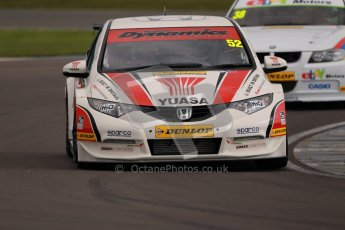 © Octane Photographic Ltd. BTCC - Round Two - Donington Park - Quail. Saturday 14th April 2012. Gordon Shedden, Honda Civic, Honda Yuasa Racing Team. Digital ref : 0294lw1d7059