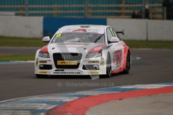 © Octane Photographic Ltd. BTCC - Round Two - Donington Park - Quail. Saturday 14th April 2012. Rob Austin, Audi A4, Rob Austin Racing. Digital ref : 0294lw1d7194