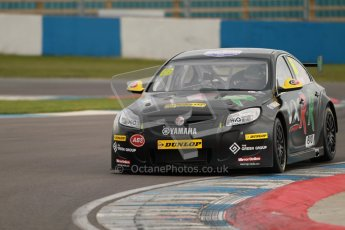 © Octane Photographic Ltd. BTCC - Round Two - Donington Park - Quail. Saturday 14th April 2012. John Thorne, Vauxhall Insignia VXR-R, Thorney Motorsport. Digital ref : 0294lw1d7408