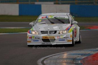 © Octane Photographic Ltd. BTCC - Round Two - Donington Park - Quail. Saturday 14th April 2012. Tom Onslow-Cole, BMW320si, eBay Motors. Digital ref : 0294lw1d7523