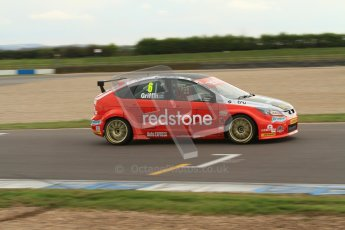 © Octane Photographic Ltd. BTCC - Round Two - Donington Park - Quail. Saturday 14th April 2012. Liam Griffin, Ford Focus, Redstone Racing. Digital ref : 0294lw7d3266