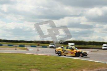 © Octane Photographic Ltd. BTCC - Round Two - Donington Park - Race 1. Sunday 15th April 2012. Chris James at speed through the Esses. Digital ref : 0295lw1d7880