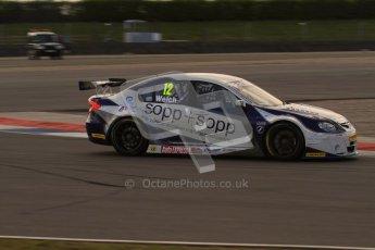 © Octane Photographic Ltd. BTCC - Round Two - Donington Park - Race 1. Sunday 15th April 2012. Daniel Welch, Proton Persona, Welch Motorsport. Digital ref : 0295lw7d3466