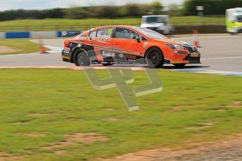 © Octane Photographic Ltd. BTCC - Round Two - Donington Park - Race 1. Sunday 15th April 2012. Frank Wrathall, Toyota Avensis, Dynojet. Digital ref : 0295lw7d3806