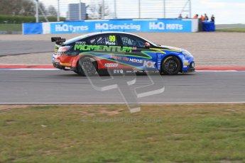 © Octane Photographic Ltd. BTCC - Round Two - Donington Park - Race 1. Sunday 15th April 2012. Jason Plato, MG6, MG KX Momentum Racing. Digital ref : 0295lw7d3991
