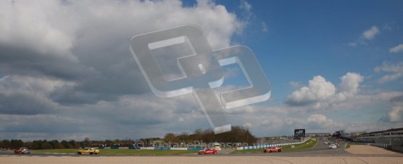 © Octane Photographic Ltd. BTCC - Round Two - Donington Park - Race 2. Sunday 15th April 2012. The racing continues place under picturesque springtime Derbyshire skies. Digital ref : 0296lw1d8164