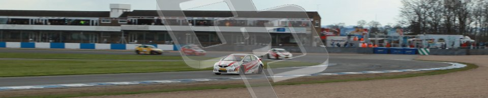 © Octane Photographic Ltd. BTCC - Round Two - Donington Park - Race 2. Sunday 15th April 2012. Gordon Shedden racing around Redgate, Digital ref : 0296lw1d8229