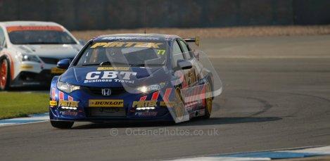 © Octane Photographic Ltd. BTCC - Round Two - Donington Park. Free Practice. Saturday 14th April 2012. Andrew Jordan, Honda Civic, Pirtek Racing. Digital ref : 0291lw1d6142