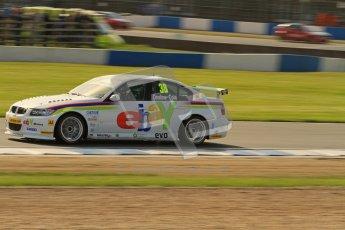 © Octane Photographic Ltd. BTCC - Round Two - Donington Park. Free Practice. Saturday 14th April 2012. Tom Onslow-Cole, BMW 320si, eBay Motors. Digital ref : 0291lw7d2600