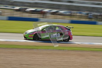 © Octane Photographic Ltd. BTCC - Round Two - Donington Park. Free Practice. Saturday 14th April 2012. Tony Gilham, Honda Civic, Team HARD. Digital ref : 0291lw7d2824