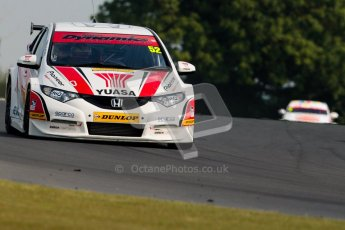 © Octane Photographic Ltd./Chris Enion. British Touring Car Championship – Round 6, Snetterton, Saturday 11th August 2012. Free Practice 1. Gordon Shedden - Honda Yuasa Racing Team, Honda Civic. Digital Ref : 0452ce1d0283