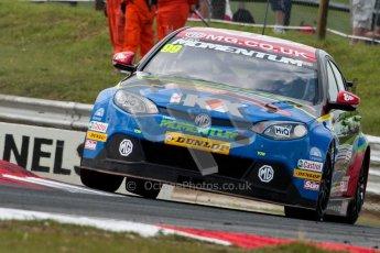 © Octane Photographic Ltd./Chris Enion. British Touring Car Championship – Round 6, Snetterton, Saturday 11th August 2012. Free Practice 2. Andrew Jordan - Pirtek Racing, Honda Civic. Digital Ref : 0453ce1d0066