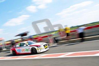 © Octane Photographic Ltd./Chris Enion. British Touring Car Championship – Round 6, Snetterton, Saturday 11th August 2012. Qualifying. Rob Austin - Rob Austin Racing, Audi A4. Digital Ref : 0454ce1d0055