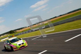 © Octane Photographic Ltd./Chris Enion. British Touring Car Championship – Round 6, Snetterton, Saturday 11th August 2012. Qualifying. Robb Holland - Team HARD.,Honda Civic. Digital Ref : 0454ce1d0158
