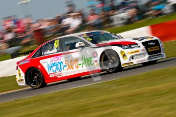 © Octane Photographic Ltd./Chris Enion. British Touring Car Championship – Round 6, Snetterton, Sunday 12th August 2012. Race 2. Rob Austin - Rob Austin Racing, Audi A4. Digital Ref : 0456ce1d0115