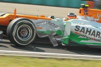 © 2012 Octane Photographic Ltd. Hungarian GP Hungaroring - Saturday 28th July 2012 - F1 Qualifying. Force India VJM05 - Nico Hulkenberg. Digital Ref : 0430lw1d7208