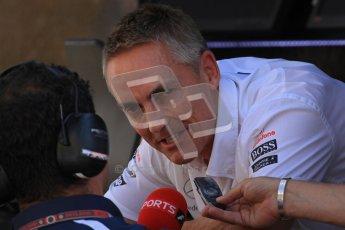 © 2012 Octane Photographic Ltd. Hungarian GP Hungaroring - Saturday 28th July 2012 - F1 Qualifying. McLaren - Martin Whitmarsh. Digital Ref : 0430lw7d0474