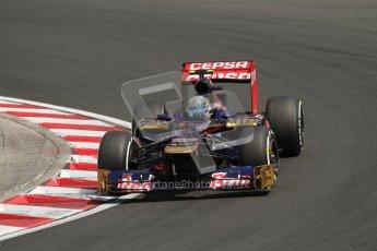 © 2012 Octane Photographic Ltd. Hungarian GP Hungaroring - Saturday 28th July 2012 - F1 Qualifying. Toro Rosso STR7 - Jean-Eric Vergne. Digital Ref : 0430lw7d6735