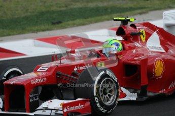 © 2012 Octane Photographic Ltd. Hungarian GP Hungaroring - Saturday 28th July 2012 - F1 Qualifying. Ferrari F2012 - Felipe Massa. Digital Ref : 0430lw7d6865